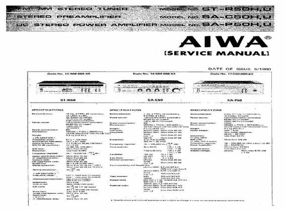 Esquema Aiwa St R50 Sa C50 Sa P50 Str50 Sac50 Sap50 Em Pdf