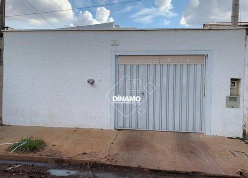 Imagem 1 de 15 de Casa Com 2 Dormitórios À Venda, Parque Dos Flamboyans - Ribeirão Preto/sp - Ca1600