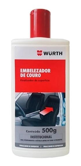 Hidratante De Couro Embelezador - Wurth-500ml Hidrata Limpa