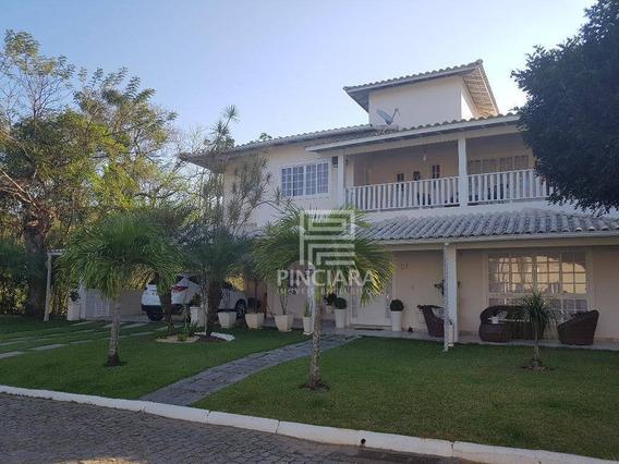 Casa Com 4 Quartos, 595 M² Por R$ 1.900.000 - Pendotiba - Niterói/rj - Ca0012