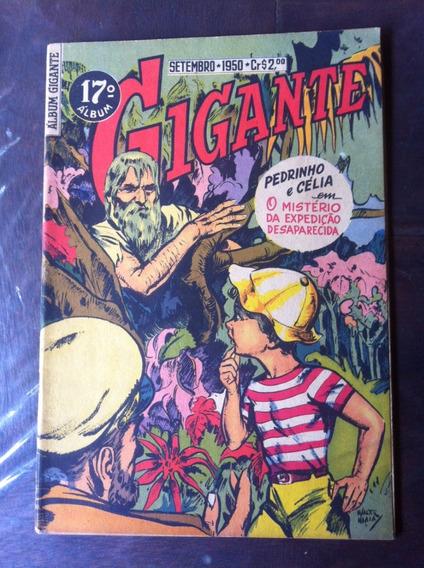 Album Gigante Nº 17 1ª Série 1950 Original Banca