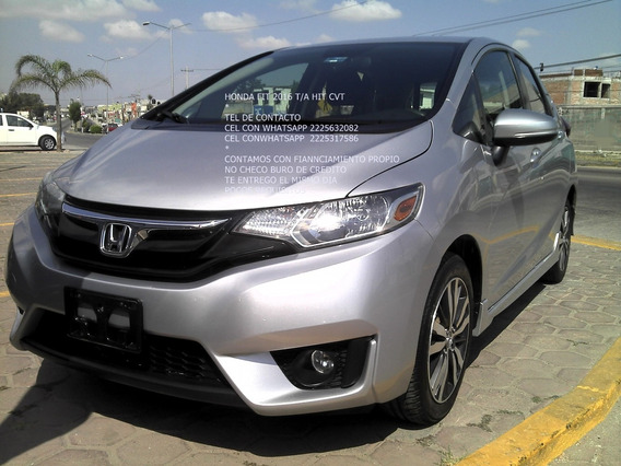 Honda Fit 2016 Automatico 4 Cil 1.5 Lts Enganche $ 43,000