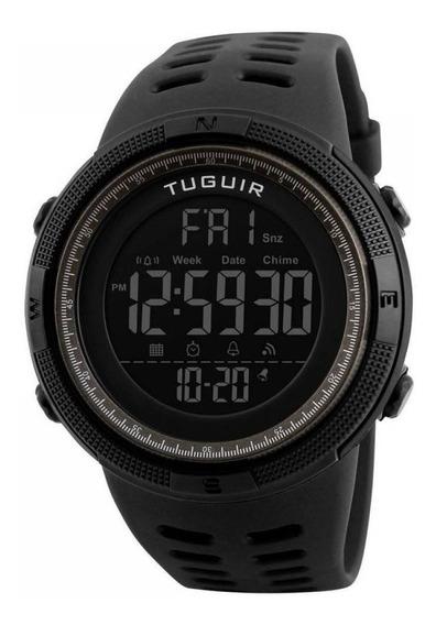 Relógio Masculino Esportivo Tuguir Digital Tg1251 Preto