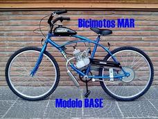 Bicimotos Modelo Playera R26 0km Con Kit 48cc Bicimoto