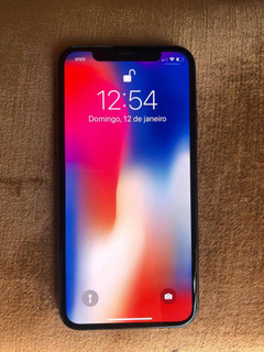 iPhone X 64gb Cabo Usb, Fone Original Por R$3.150