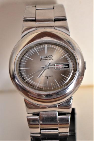 Relógio Masculino Seiko Diamatic 21 Jewels 6119-5411