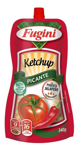 Ketchup Picante Fugini Sachê Bico 340 G