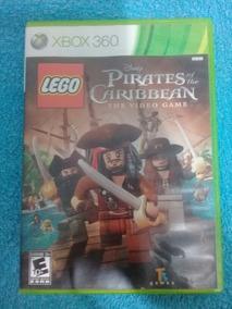 Jogo Original Xbox 360 Lego Piratas Do Caribe