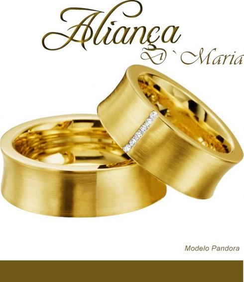 Aliança Ouro 18k Pandora