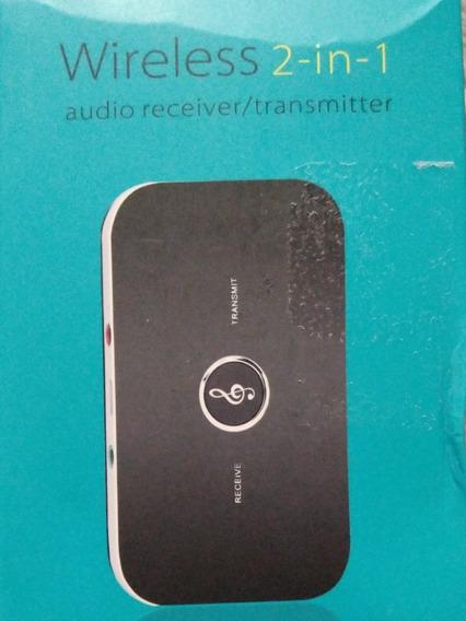 Transmissor E Receptor Bluetooth De Áudio Com Frete Grátis!