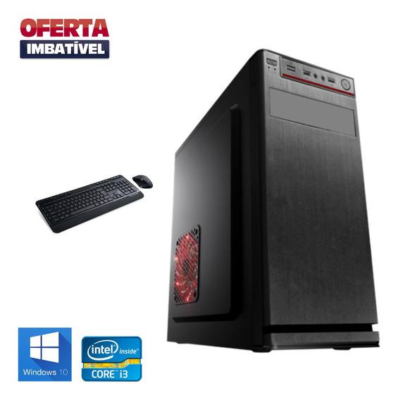 Cpu Montada - Core I3 - 8gb Ram - 500gb - Hdmi - Wifi Win10