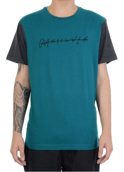 Camiseta Quiksilver Heather Dark Pack Verde