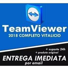 Teamviewer 14 Envio Imediato Não Expira - Última Versão 2018