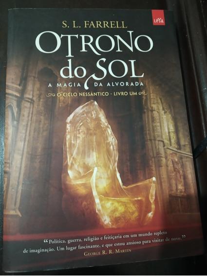 Livro O Trono Do Sol, De S. L. Farrel