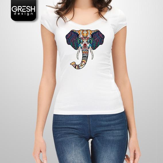 Remeras De Mujer Elefantes