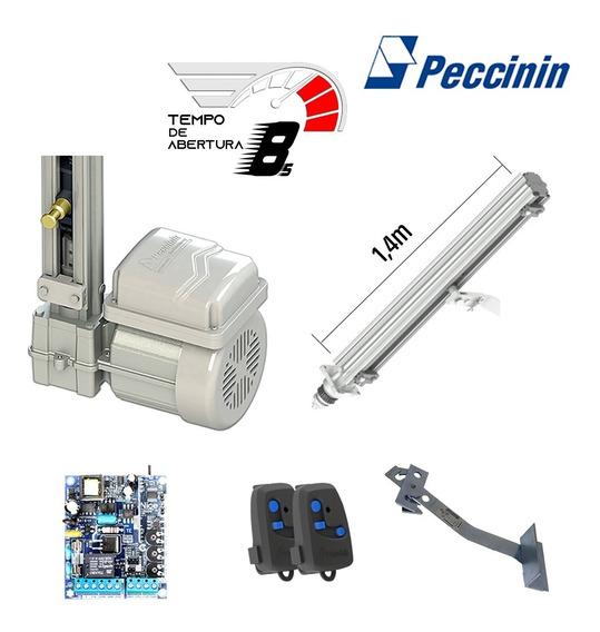 Kit Motor Eletrônico Portão Basculante 1/4 Peccinin - 1,40m