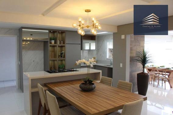 Apartamento Conect Life 3 Dormitórios À Venda, 157 M² Por R$ 1.180.000 - Vila Rosália Porteira Fechada - Ap0892