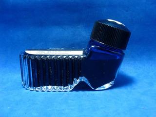 Tinta Montblanc Azul Documental 50 Ml. Sin Uso Tintero