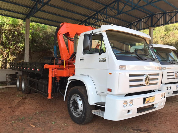 Vw 17180 Worker Com Munck E Carroceria