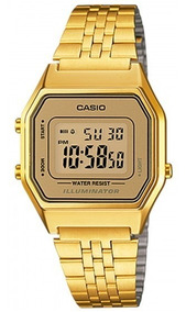 Relógio Casio La680wga-9df Dourado Digital Retrô - Refinado