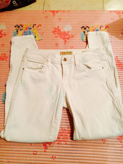 Jeans Blancos Guess