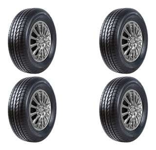 Set De 4 Llantas Powertrac 235/60 R16 City March