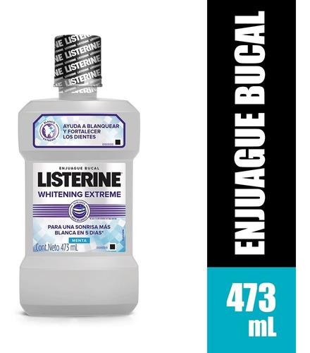 Enjuague Bucal Listerine Whitening Extreme X 437ml