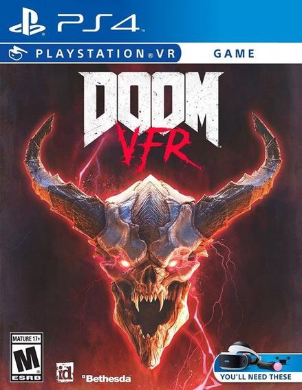 Doom Vr Ps4 Mídia Física Lacrado Leg Pt Br