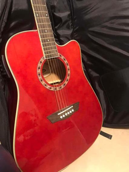 Guitarra Electro Acústica Washburn