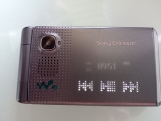 Celular Sony Ericsson Walkman W 380