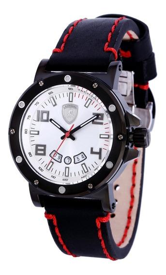 Relógio Masculino Lamborghini Ferruccio Lb90045252m Original