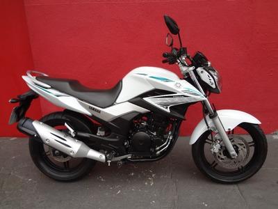 Yamaha Ys 250 Fazer Blueflex 2016 Branca