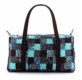 Mala De Mão Stacy Patchwork Giulianna Fiori