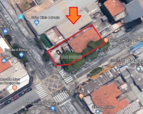 Esquina Comercial Em Pinheiros Ponto Com Grande Fluxo De Pessoas, Bairro Em Expansão Imobiliária - Mi118310