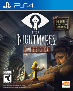 Little Nightmares Complete Edition Ps4 Español Delivery