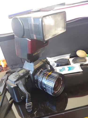 Câmera Fotográfica Vintage Canon T70 E Flash Speedlite 299t