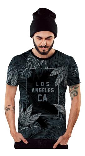 Imagem 1 de 2 de Camiseta Los Angeles Califórnia Azul Street Waear