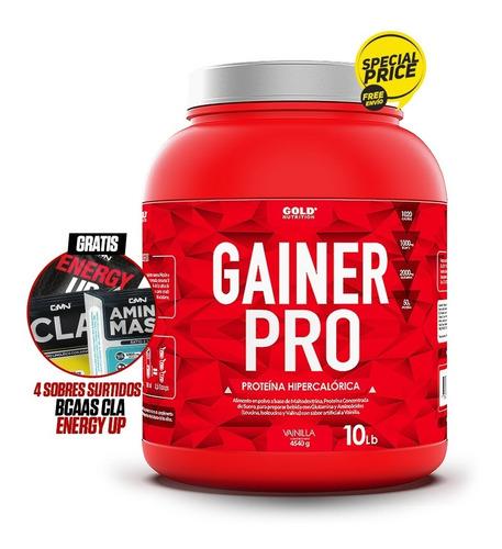 Proteína Gainer Pro Para Aumentar Músculo 10lbs En Promoción