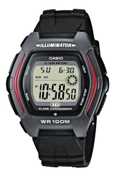 Relógio Casio Hdd-600-1avcb Original Bateria Dura 10 Anos