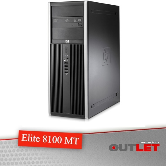 Desktop Hp Elite 8100 I5 650 4gb 250gb Com Monitor Hp 20 Led