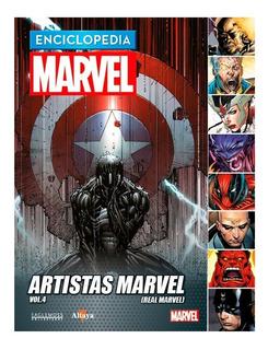 Enciclopedia Marvel Nº 70 Artistas Marvel Vol.4