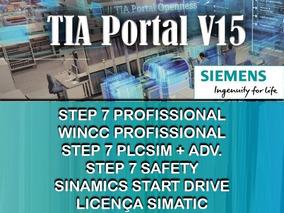 Siemens Tia Portal V15 Completo 4 Dvd Com Licença Completo