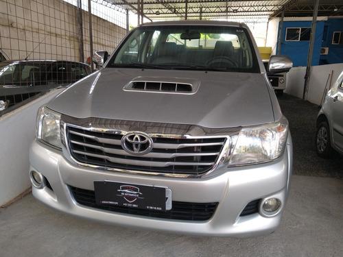 Imagem 1 de 4 de Toyota Hilux 2012 3.0 Srv Top Cab. Dupla 4x4 Aut. 4p 171 Hp