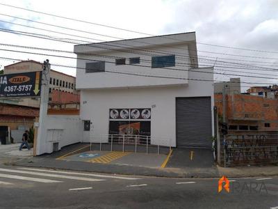 Salão Comercial Centro Sbc, Ótimo P/ Distribuidora - Lo0005