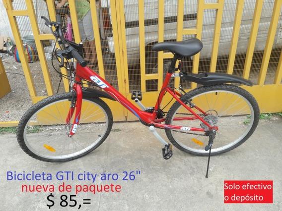 Bicicleta Gti City Aro 26 Varios Colores