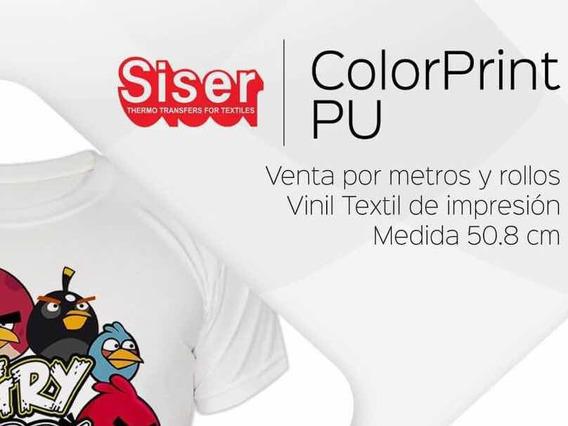 Vinil Textil De Impresión Siser Color Print Pu