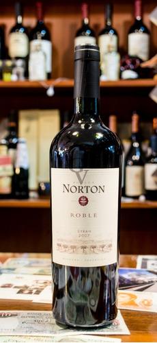Norton Roble Syrah 2007