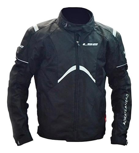 Imagen 1 de 6 de Campera Moto Ls2 Teide Men Jacket