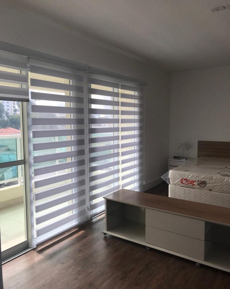 Anália Franco - Studio 40mts 1 Banheiro Ampla Varanda Vista Ceret - 2944702767 - 34891121