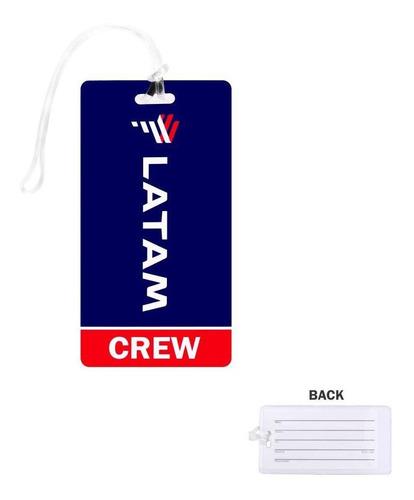 Etiqueta Latam Crew